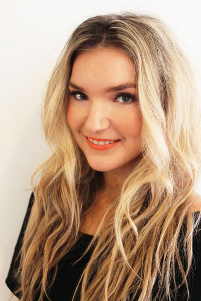 Beauty Trend Tangerine And Tousled Waves Tutorial